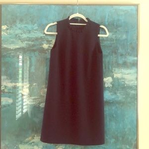 French Connection Navy  Shift Dress Sz2